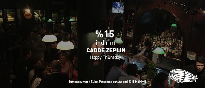"Cadde'de ""Happy Thursday"" nedir?"