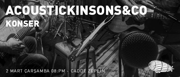 @Cadde Zeplin-Acoustickinsons&Co