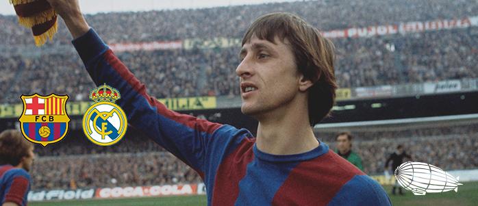 """Johan Cruyff'a en güzel veda """"El Clásico"""""""