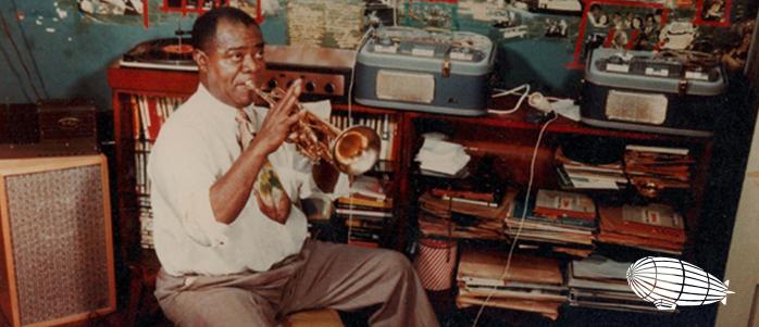 Louis Armstrong'un Stüdyo Kayıt Görüntüleri