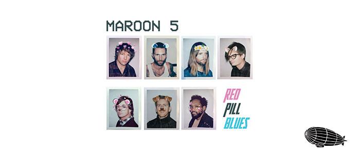 MAROON 5 YEDİ KİŞİYLE DÖNDÜ: RED PILL BLUES